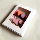 12-16 White Cookies Boxes