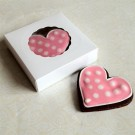 Small White Cookie Box for 1-2 Cookies ($1.2pc x 25 units)
