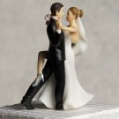 Tango Couple Wedding Cake Topper